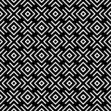 Nahtloses abstraktes Muster des Vektors Schwarzweiss Abstrakte Hintergrund Tapete Auch im corel abgehobenen Betrag Herz, Hintergr vektor abbildung