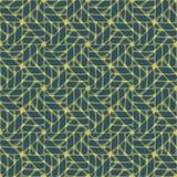 Nahtloses abstraktes Muster im geometrischen Stil Stockfotos