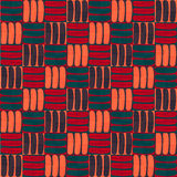 Nahtloses abstraktes Muster im geometrischen Stil Abstraktes boho Muster Stockbilder