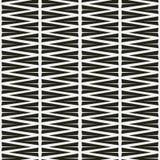 Nahtloses abstraktes Muster im Schwarzweiss--backgrond Stockbild