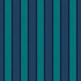 Nahtloses abstraktes Muster mit den blauen und Smaragdlinien nach innen kopiert stock abbildung