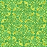 Nahtloses abstraktes Muster mit Hexagonen Lizenzfreies Stockbild