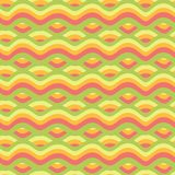 Nahtloses abstraktes Muster, Wellenhintergrund Vektor Abbildung
