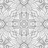 Nahtloses abstraktes Stammes- Muster Stockbild