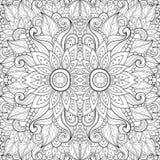 Nahtloses abstraktes Stammes- Muster (Vektor) Stockfoto