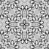Nahtloses abstraktes Stammes- Muster (Vektor) Lizenzfreie Stockfotos