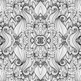 Nahtloses abstraktes Stammes- Muster (Vektor) Stockbilder