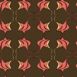 Nahtloses abstraktes Strudelmuster Stockbild