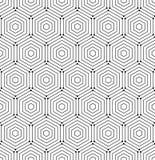 Nahtloses abstraktes vektormuster Lizenzfreies Stockbild