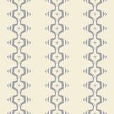 Nahtloses abstraktes Vektormuster auf weißem Hintergrund Lizenzfreie Stockfotos