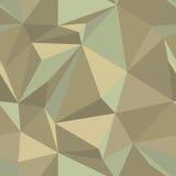 Nahtloses abstraktes vektormuster in den Weinlesefarben Stockbild