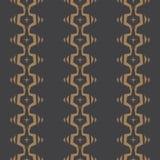 Nahtloses abstraktes Vektormuster im einfarbigen Hintergrund Stockbild