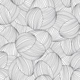 Nahtloses abstraktes von Hand gezeichnet Muster Stockfoto