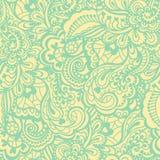 Nahtloses abstraktes von Hand gezeichnetes Muster Stockfotos