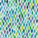 Nahtloses abstraktes von Hand gezeichnetes Muster des Aquarells, endloses modernes Lizenzfreies Stockbild