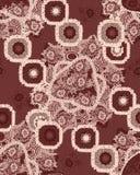 Nahtloses antikes Muster Lizenzfreies Stockbild