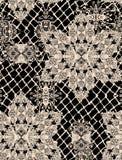 Nahtloses antikes Muster Lizenzfreie Stockfotografie