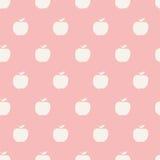 Nahtloses Apple-Muster Stockfotos