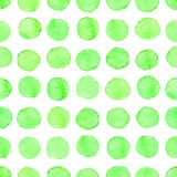 Nahtloses Aquarellpunktmuster Stockbilder