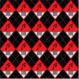 Nahtloses Argyle-Plaid vektorkunst-Muster Stockfotografie
