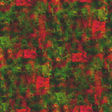 Nahtloses Artrot des Tapetenbildes, grün lizenzfreie abbildung
