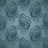 Nahtloses aufwändiges Muster (Vektor) Lizenzfreies Stockbild