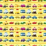 Nahtloses Automuster Lizenzfreies Stockfoto