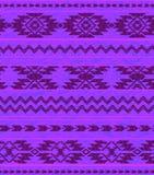 Nahtloses aztekisches Muster Lizenzfreie Stockfotos