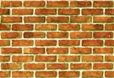 Nahtloses Backsteinmauermuster des Aquarells Stockfoto