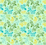 Nahtloses Beschaffenheitsabstraktions-Frühlingsmuster Stockfotos