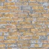 Nahtloses Bild des Ziegelsteines und der Morter-Wand Stockbild