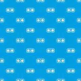 Nahtloses Blau des Spielglas-Musters Stockbilder