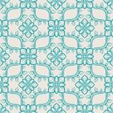 Blaues abstraktes Muster lizenzfreie abbildung