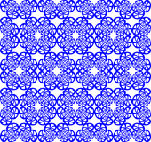 nahtloses blaues Muster stock abbildung