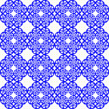 nahtloses blaues Muster vektor abbildung