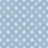 Nahtloses Blaues u. Weiß windt sich Hintergrund-Tapete Stockbild