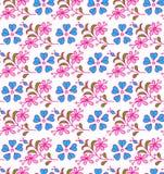 Nahtloses Blumen Stockfoto