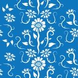Nahtloses Blumen-Muster Stockbild