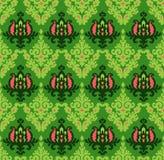 Nahtloses Blumen-Vektor-Muster Stockbilder