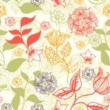Nahtloses Blumenmuster Lizenzfreie Stockbilder