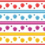 Nahtloses Blumenmuster Lizenzfreies Stockbild