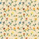 Nahtloses Blumenmuster Stockbilder