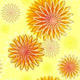 Nahtloses Blumenmuster Stockbild