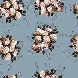 Nahtloses Blumenmuster 2 Lizenzfreie Stockfotografie