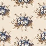 Nahtloses Blumenmuster 6 Lizenzfreie Stockbilder
