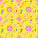 Nahtloses Blumenmuster Lizenzfreie Stockfotografie