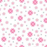 Nahtloses Blumenmuster vektor abbildung