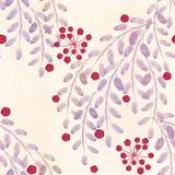 Nahtloses Blumenmuster auf einem weißen Hintergrund lizenzfreie abbildung