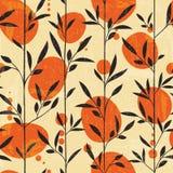 Nahtloses Blumenmuster in der japanischen Art Lizenzfreie Stockfotos