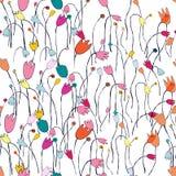 Nahtloses Blumenmuster Dieses ist Datei des Formats EPS10 Art und Weise Stockbilder